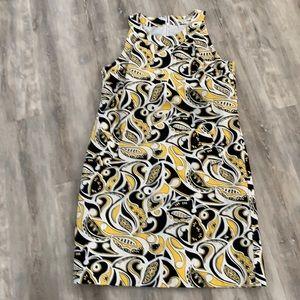 Banana republic like new sleeveless dress